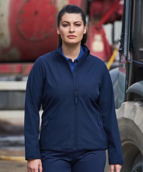 Plain Women's Pro 2-layer softshell jacket Jackets Pro RTX 280 GSM