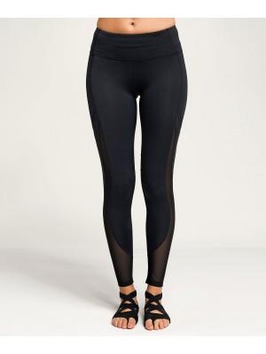 Plain Women's TriDri® mesh tech panel leggings full-length  Leggings TriDri® 260 GSM
