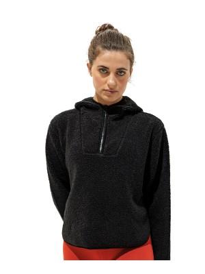 Plain Women's TriDri® sherpa 1/4 zip hoodie  hoodies TriDri® 430 GSM