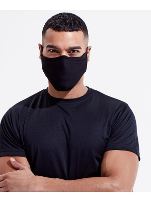 Plain TriDri® Fitness mask Mask TriDri® Outer: 150 . Mid-foam layer: 115 . Inner-layer: 250  GSM