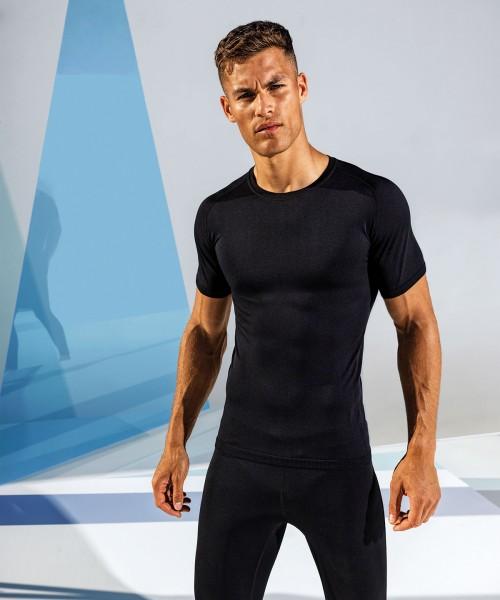 Plain TriDri® Seamless '3D fit' multi-sport performance short sleeve top T-shirts TriDri® 210 GSM