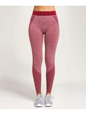 Plain Women's TriDri® seamless '3D fit' multi-sport sculpt leggings  Leggings TriDri® 340 GSM