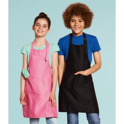 Plain KIDS GALA LONG BIB APRON SOLS 240 GSM