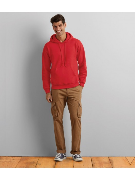 Plain Heavy Blend Hooded Sweatshirt Gildan White 265 gsm Colours 280 gsm GSM