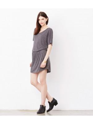 Plain Dress V Neck Bella & Canvas 125 gsm GSM
