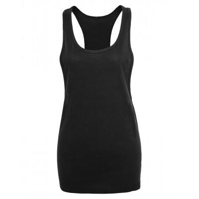 Plain Women's loose tank T-shirts Build Your Brand 140 GSM
