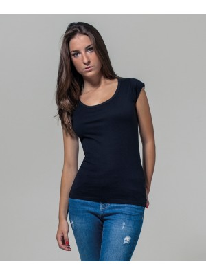 Plain Women's back cut tee T-shirts Build Your Brand 140 GSM