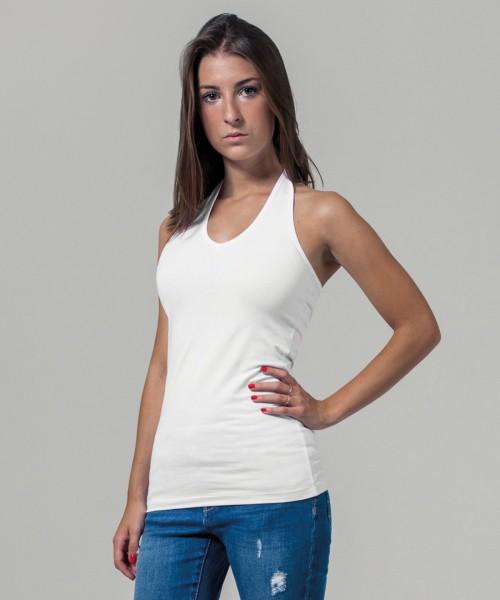 Plain Women's neck holder shirt  T-shirts Build Your Brand 180 GSM
