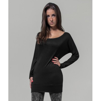 Plain Women's viscose long sleeve tee  T-shirts Build Your Brand 170 GSM
