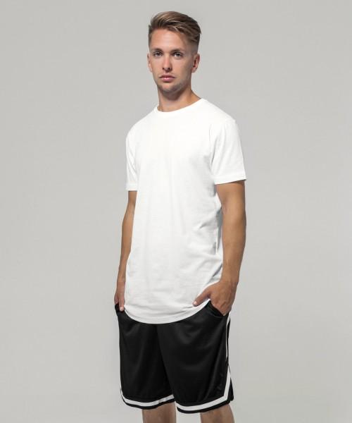 Plain Two-tone mesh shorts Shorts Build Your Brand 130 GSM