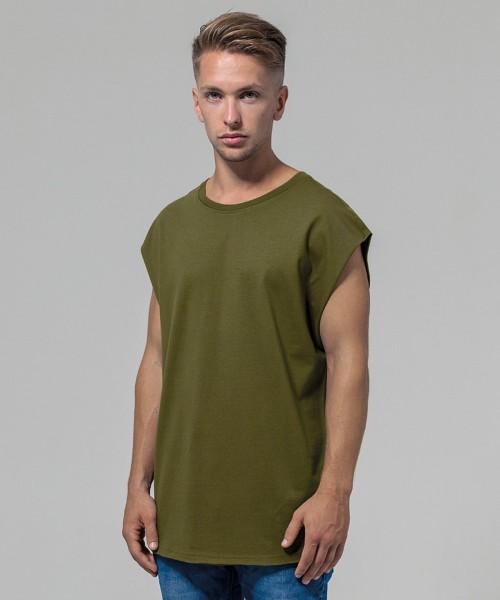 Plain Sleeveless tee T-shirts Build Your Brand 200 GSM