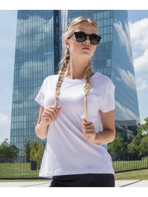 Plain Women's box tee T-shirts Build Your Brand 140 GSM