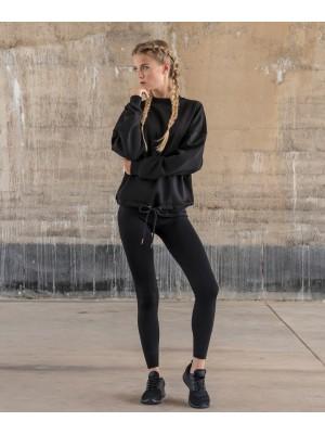 Plain Women's oversize crew neck T-shirts Build Your Brand 250 GSM