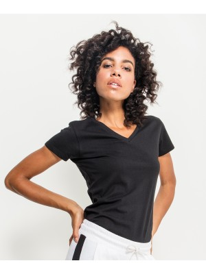 Plain Women's basic tee T-shirts Build Your Brand 140 GSM