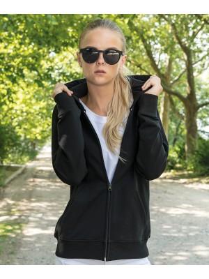 Plain Women's terry zip hoodie Hoodies Build Your Brand 260 GSM