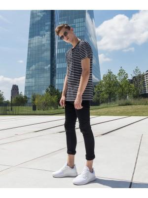 Plain Stripe tee  T-shirts Build Your Brand 180 GSM
