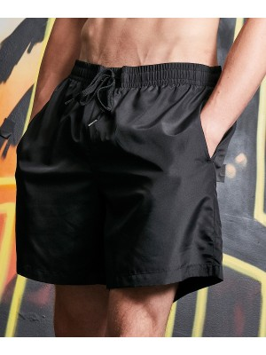 Plain Recycled swim shorts Shorts Build Your Brand 82 GSM