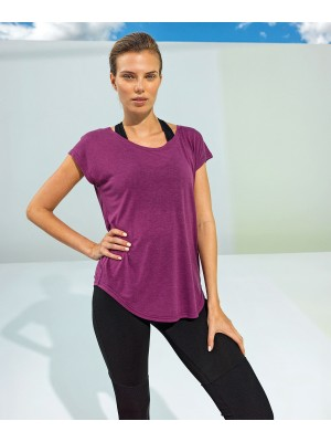 Plain Women's TriDri® yoga cap sleeve top Tops TriDri® 120 GSM