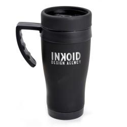 Personalised Oregon Black Travel Mug