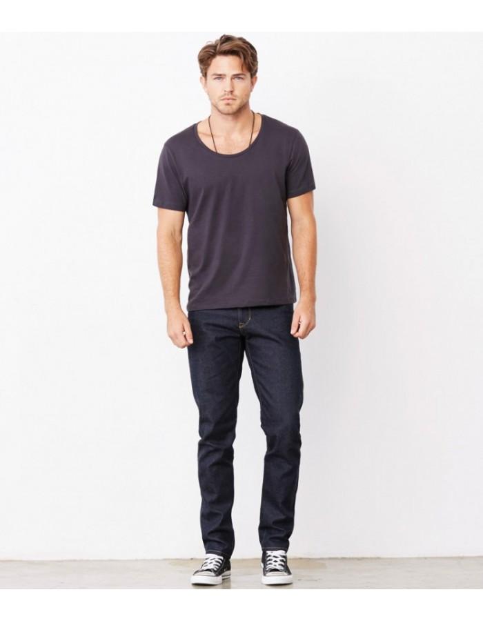 Plain T-Shirt Wide Neck Bella & Canvas 125 gsm