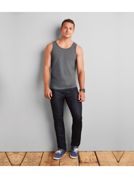 Plain T-Shirt Vests and Sleeveless Gildan White 141 gsm Colours 150 gsm GSM