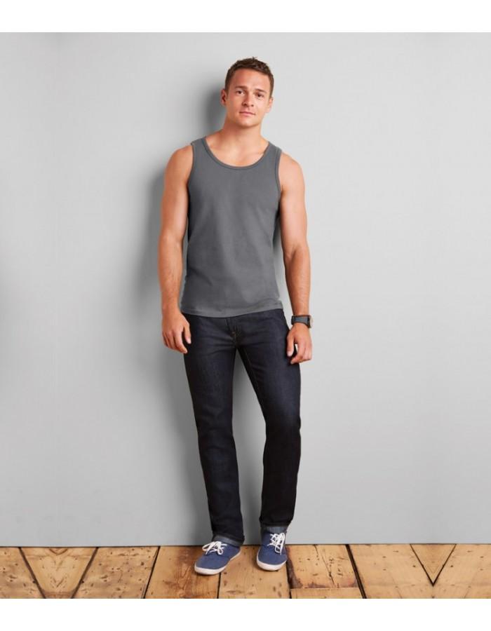 Plain T-Shirt Vests and Sleeveless Gildan White 141 gsm Colours 150 gsm