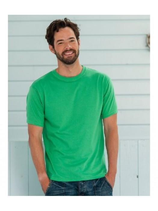 Plain t-shirt Lightweight  Russell Europe White 140gsm