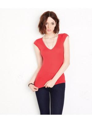 Plain T-Shirt V Neck Bella & Canvas 135 gsm