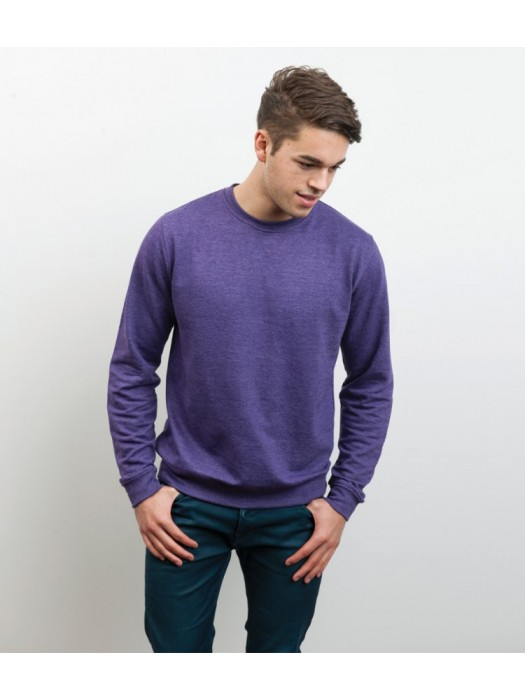 Plain Heather Sweatshirt AWDis Just Hoods 225 gsm GSM