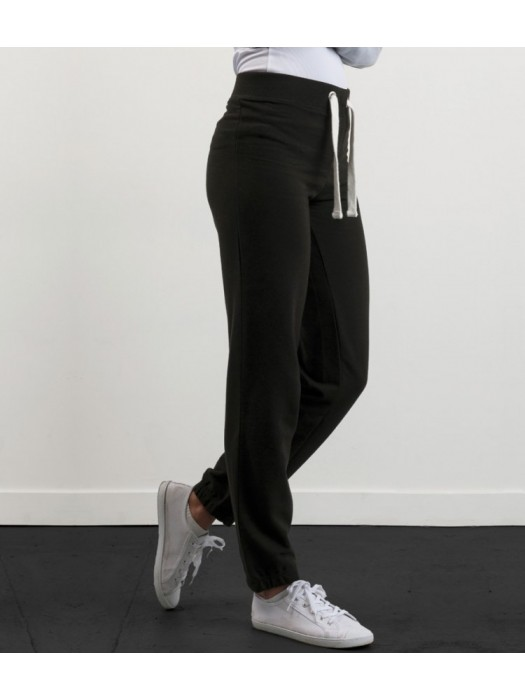 Plain Girlie Cuffed Jog Pants AWDis Just Hoods 280 GSM