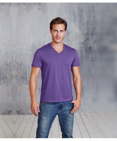 Plain T-Shirt V Neck Kariban 180 gsm