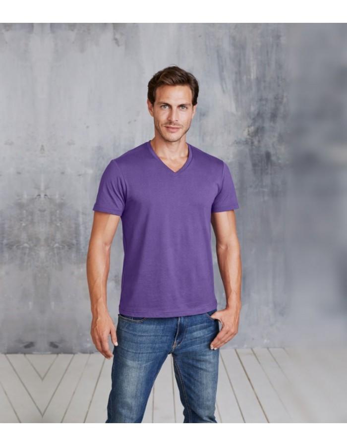 Plain T-Shirt V Neck Kariban 180 gsm