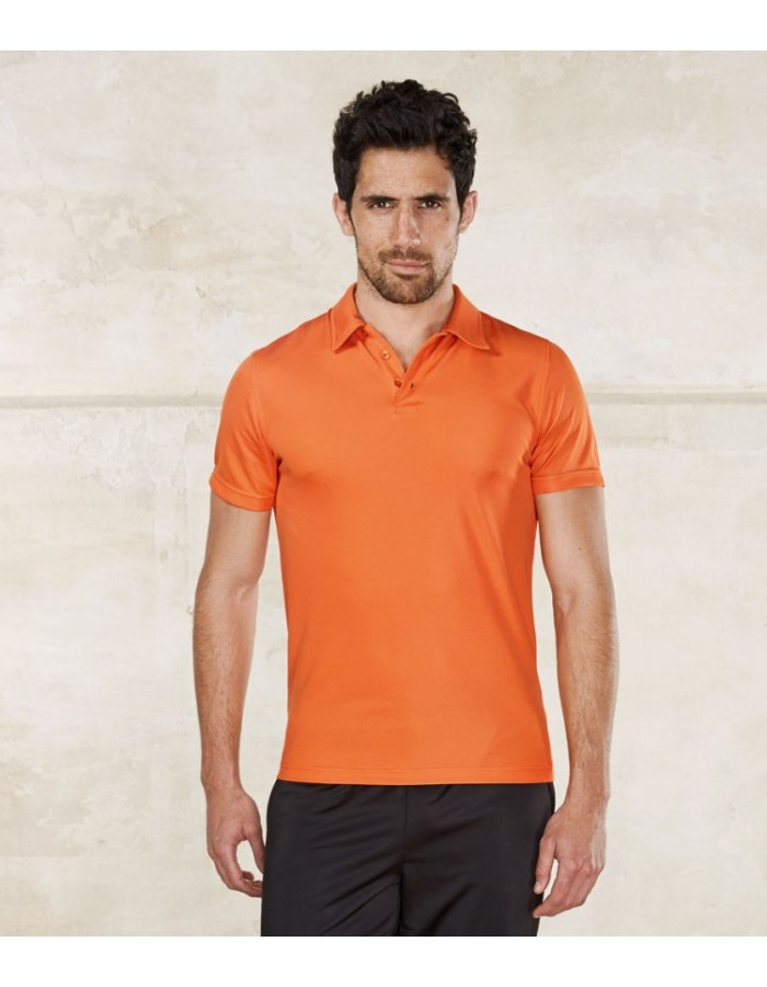 Plain Polo Shirt Sport Performance Proact 145 GSM