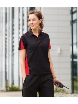 Plain Ladies Club Pique Polo Shirt Finden & Hales 200 GSM