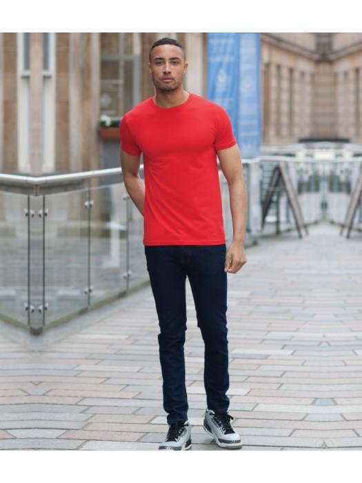 Plain T-Shirt Slim Fit Skinnifit 165 gsm GSM