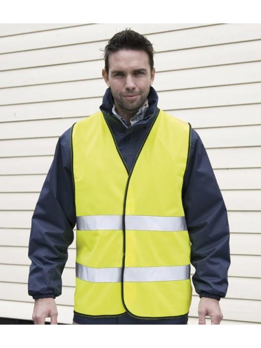 Plain Core Motorist Safety Vest Result  GSM