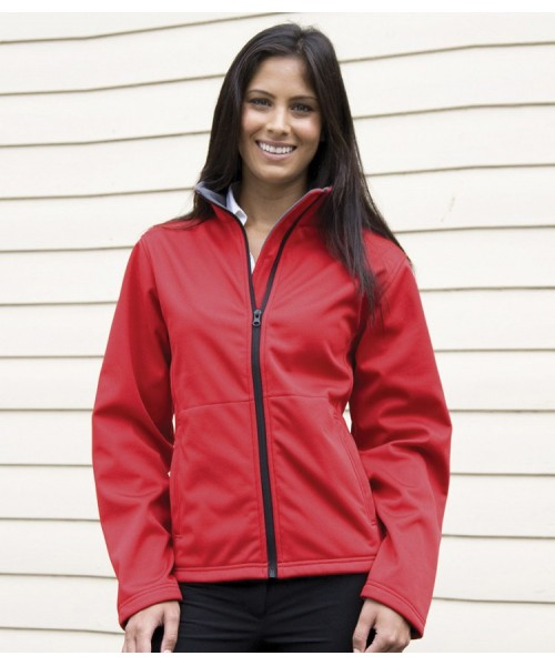 Plain Soft Shell Jacket Core Ladies Result