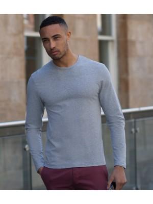 Plain T-Shirt Long Sleeve Skinnifit 190 GSM