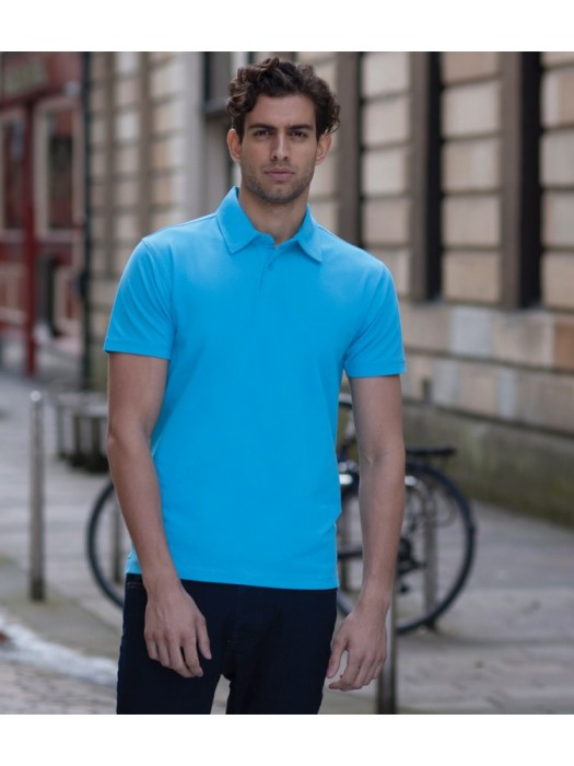 Plain Polo Shirt Modern Stretch Pique Skinnifit 200 GSM
