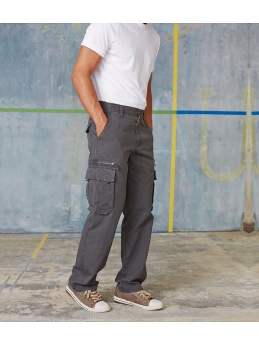 Plain Heavy Canvas Trousers Kariban 270 GSM