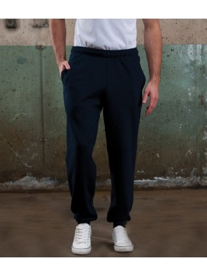 Plain College Cuffed Jog Pants AWDis Just Hoods 280 GSM