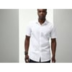 Plain Shirt Short Sleeve Stretch Russell Black 130 gsm White 125 GSM