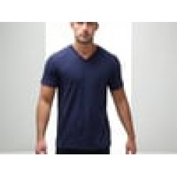 Plain T-Shirt V Neck Anvil 150 gsm