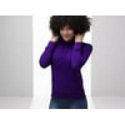 Plain sweatshirt Lady-fit lightweight hooded FRUIT of the LOOM 240 GSM