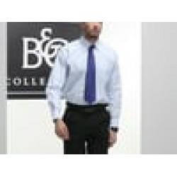 Plain Oxford long sleeve /men B&C 135 GSM