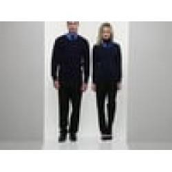 Plain V Neck Sweater Knitted Premier