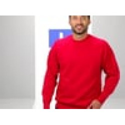 Plain Sweatshirt Raglan Russell 295 GSM