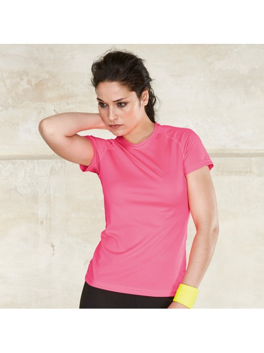 Plain T-Shirt Sport Ladies Proact 140 GSM
