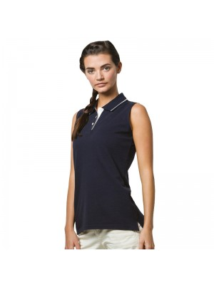 Plain Polo Shirt Sleeveless Pique Gamegear 210 GSM