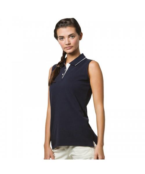 Plain Polo Shirt Sleeveless Pique Gamegear 210 GSM
